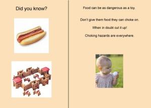 Food choking hazard